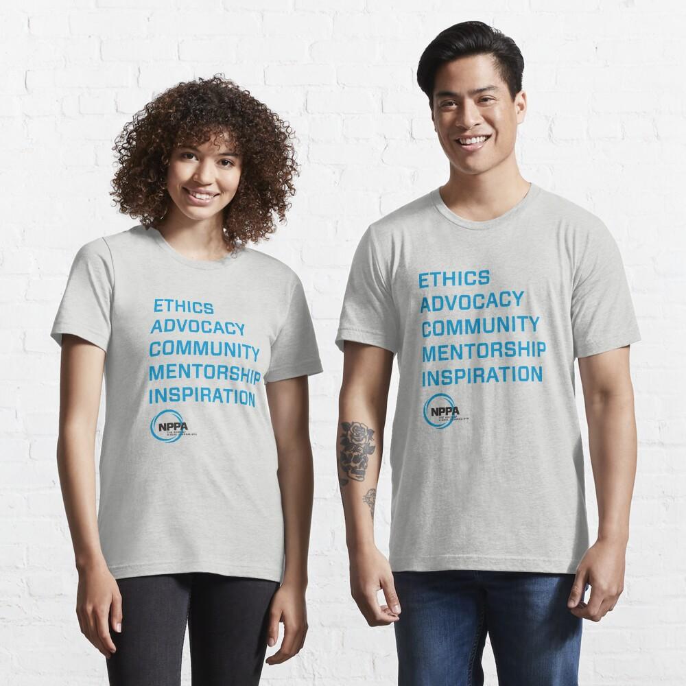 NPPA words Essential T-Shirt