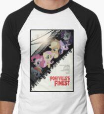 Ponyville's Finest Tee Men's Baseball ¾ T-Shirt