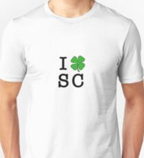 I (Club) SC (black letters) Unisex T-Shirt