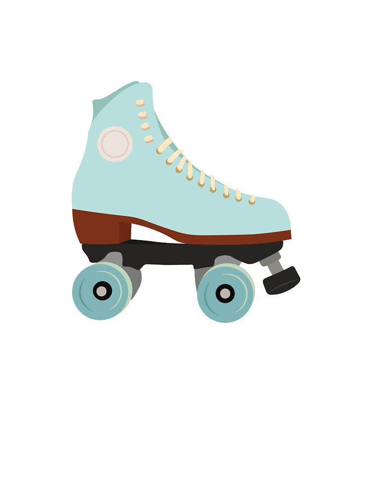 Blue Vintage Roller Skate Baby One Piece By Eknicole Redbubble