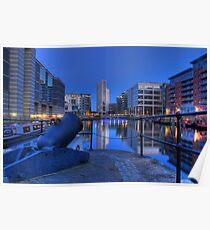 Clarence Dock - Royal Armories - Leeds Poster