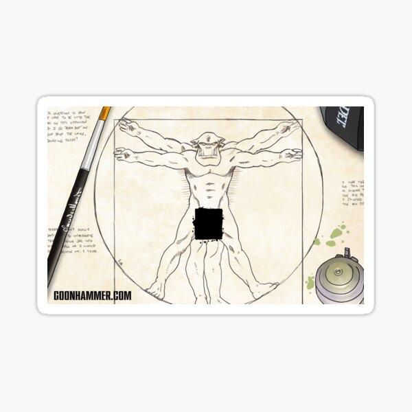 Goonhammer Vitruvian Ork Sticker