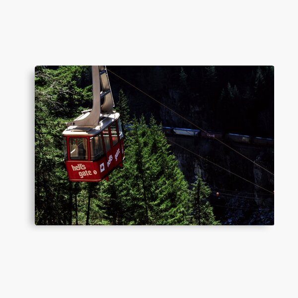 Airtram at Hell's Gate Canvas Print