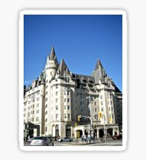 The  Fairmont Chateau Laurier Hotel, Ottawa, ON Canada Sticker