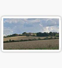 Beautiful English Countryside Sticker