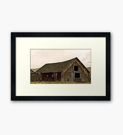 Decay In Almo Framed Print