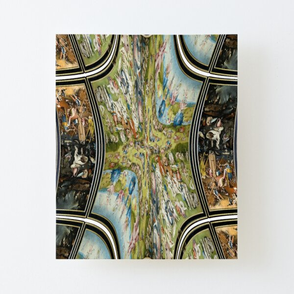Garden of earthly delights couch throw blanket, #Garden, #earthly, #delights,  #couch, #blanket Canvas Mounted Print