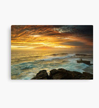 The Platform - Long Bay Canvas Print