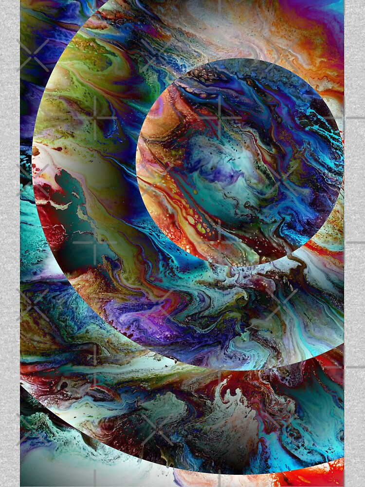 Conjunction: planet art by kerravonsen