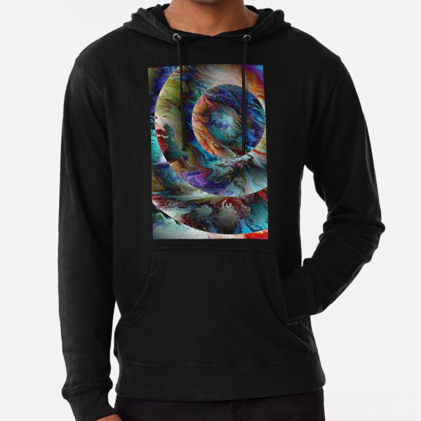 Conjunction: planet art Lightweight Hoodie