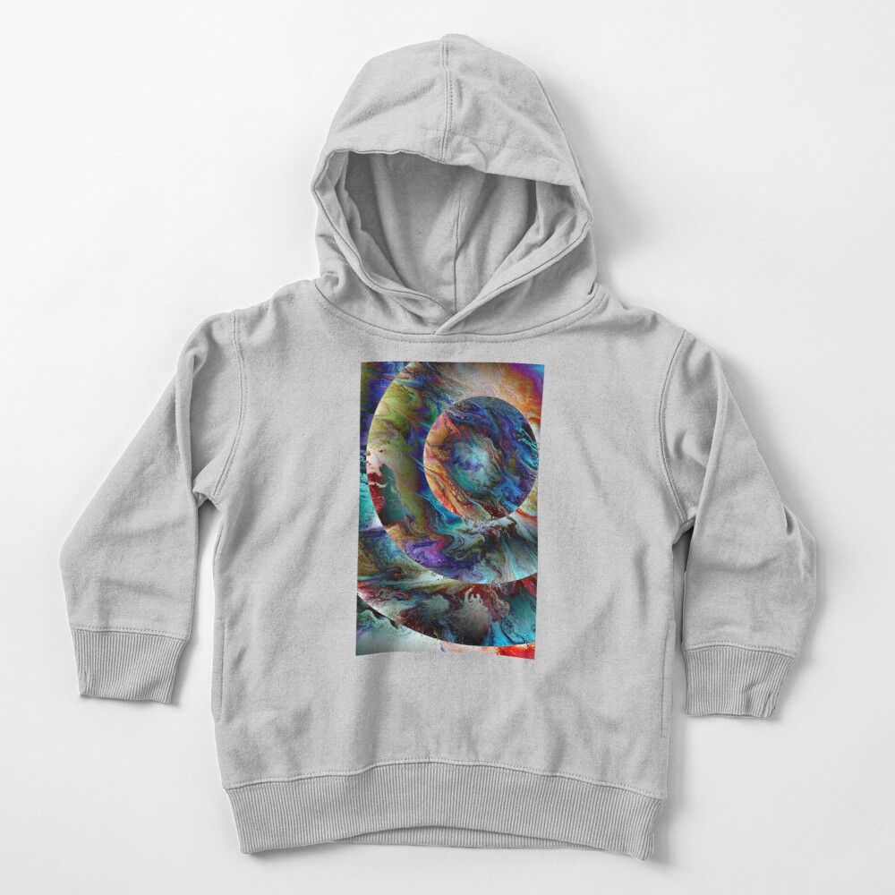 Conjunction: planet art Toddler Pullover Hoodie