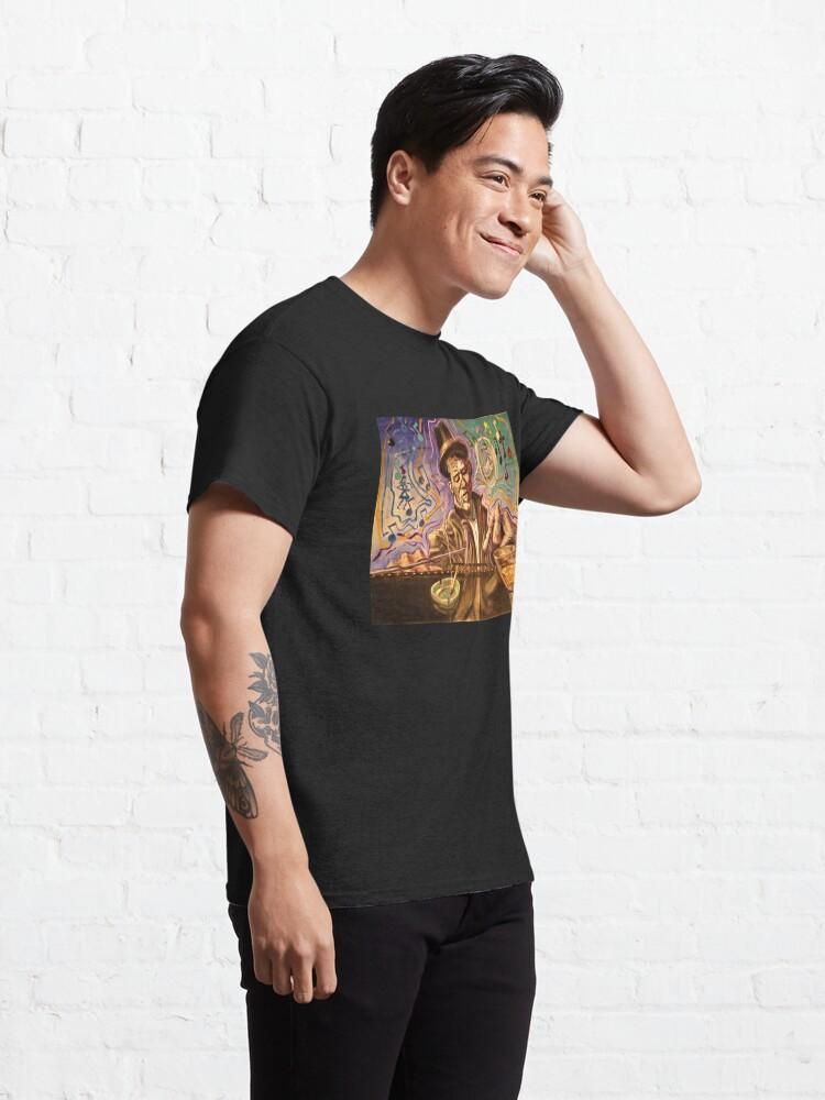 Alternate view of Waltzing Waits aka Tom Waits Classic T-Shirt