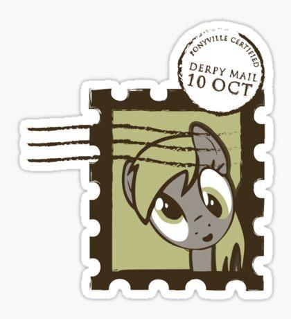 Derpy Mail Sticker