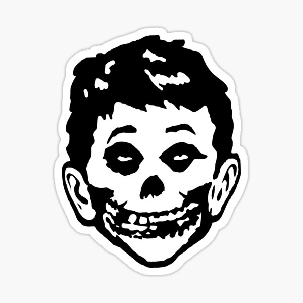 Mad Misfits Re-make Green Hell Ver. Sticker