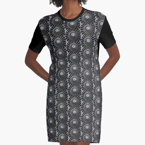 Airplane turbine Graphic T-Shirt Dress