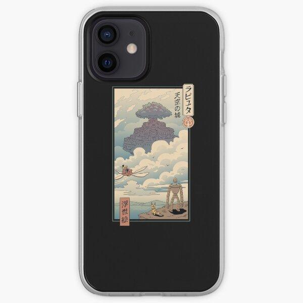 Sky Castle Ukiyo e iPhone Soft Case