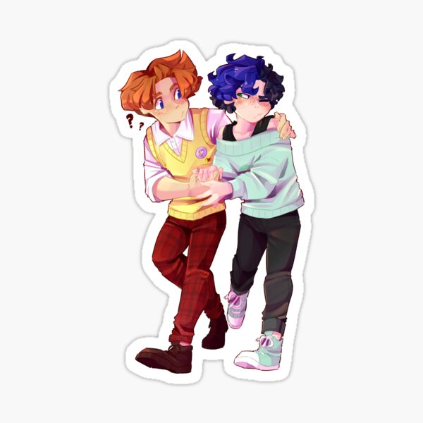 Andy and Lucca aren't dating Sticker