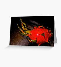 Dragon...On Featured: Complex-simplicity Group Greeting Card