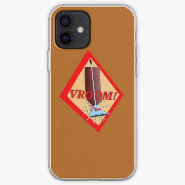 VROOM! Vacuum on the move! iPhone Soft Case