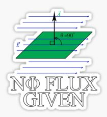 0 Flux given Sticker