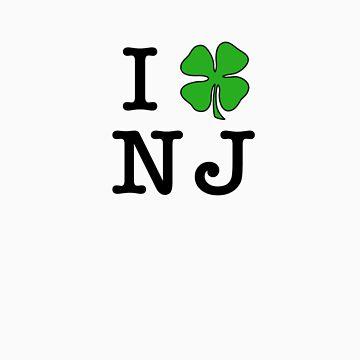 I (Club) NJ (black letters) by iClub