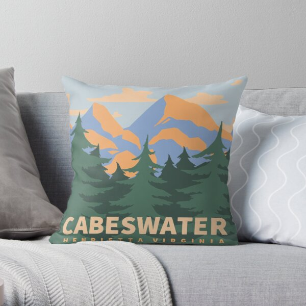 Cabeswater Henrietta Virginia Throw Pillow