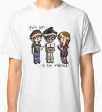 This Jen is the internet- IT Crowd Classic T-Shirt