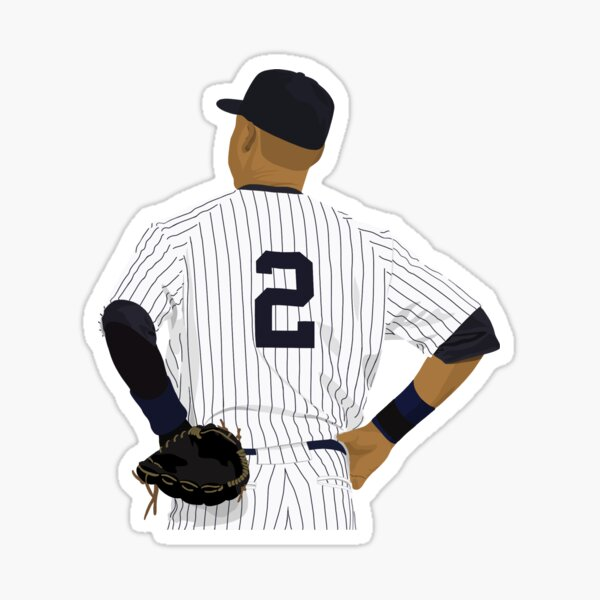 Derek Jeter 2 Sticker
