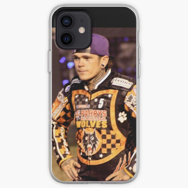 Tai Woffinden posing iPhone Soft Case