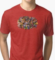 Amiga Game Characters Tri-blend T-Shirt
