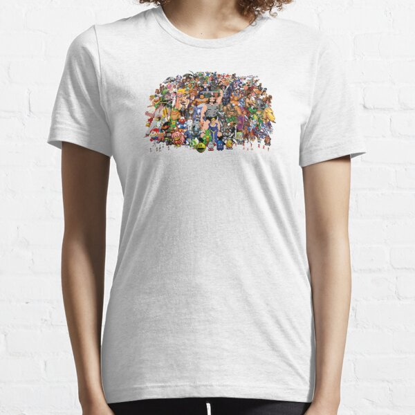 Amiga Game Characters Essential T-Shirt