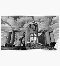 Imposing - Remains of the cement works Poster