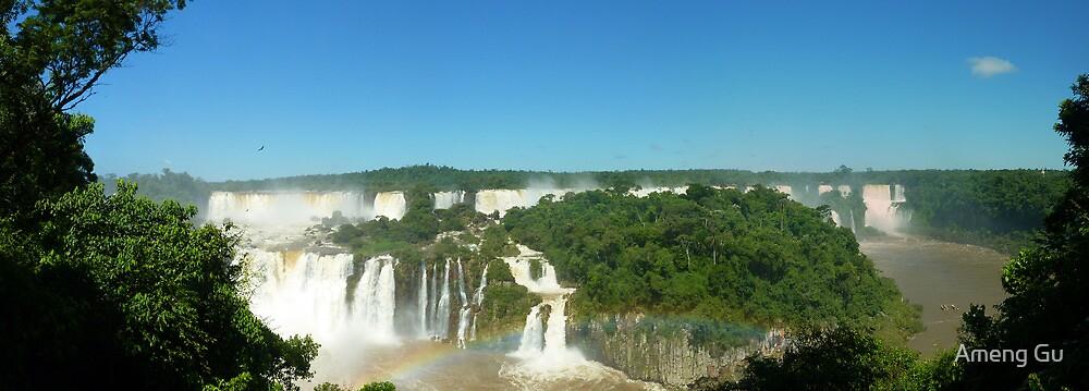 Iguazu Falls by Ameng Gu
