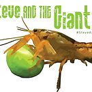 Steve and the Giant Pea by AdanichDesign