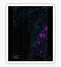 USGS Topo Map Oregon Mahon Creek 280625 1973 24000 Inverted Sticker