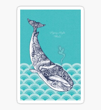 Pypmy Right Whale Sticker