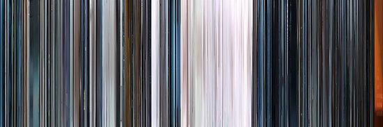 Moviebarcode: THX 1138 (1971) by moviebarcode