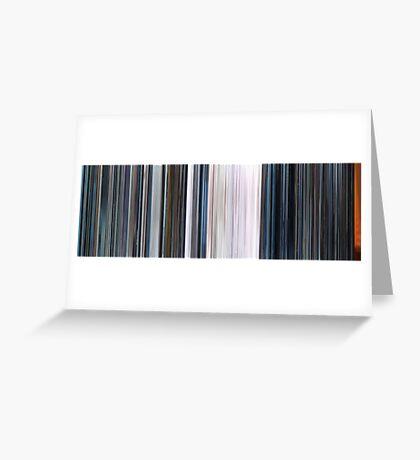 Moviebarcode: THX 1138 (1971) Greeting Card