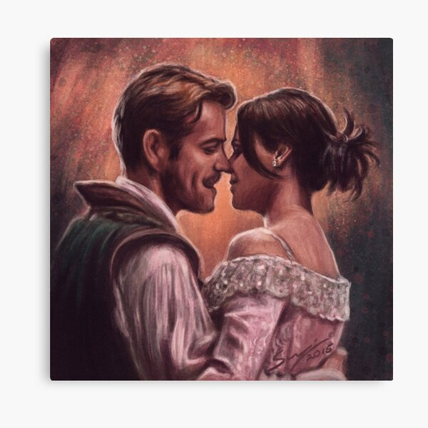 It's Like A Story Of Love Canvas Print