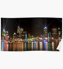 City of Lights, Brisbane Festival 2011 Poster