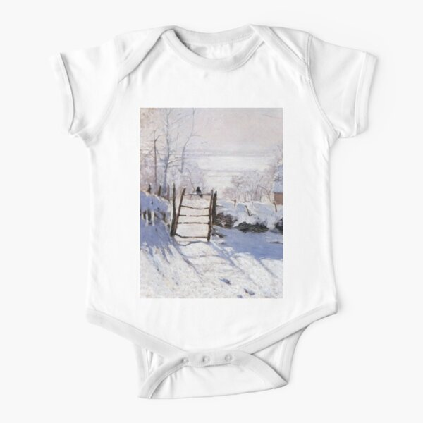 Claude Monet - French painter Short Sleeve Baby One-Piece