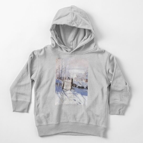 Claude Monet - French painter Toddler Pullover Hoodie