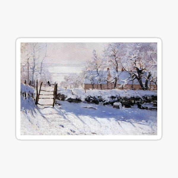 Claude Monet - French painter Sticker