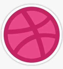 Dribbble Ball Sticker