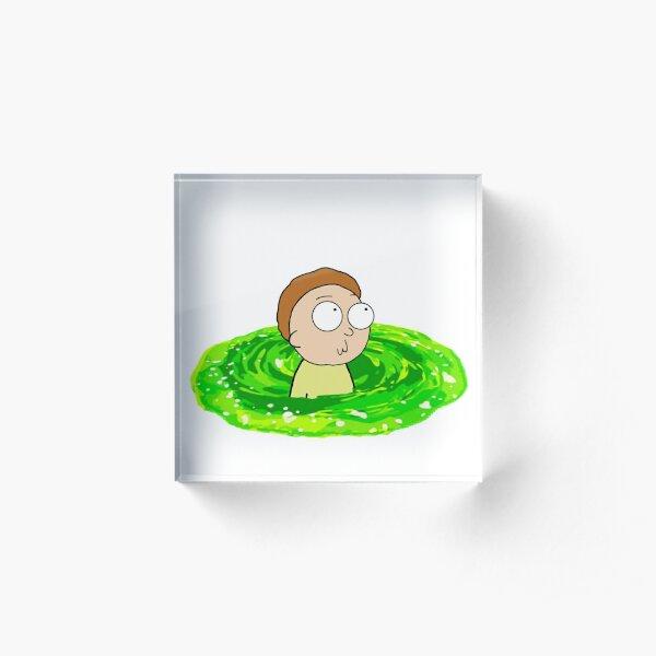 Morty? Portal Acrylic Block