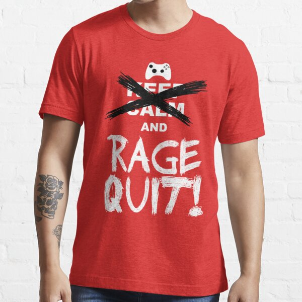 RAGE QUIT! The Xbox Version Essential T-Shirt