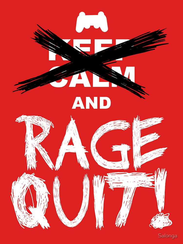 RAGE QUIT! The PS3 Version | Unisex T-Shirt