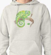 Swirly Chameleon Pullover Hoodie