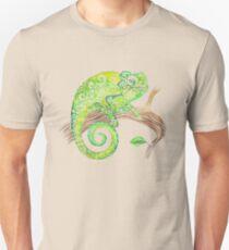 Swirly Chameleon Unisex T-Shirt
