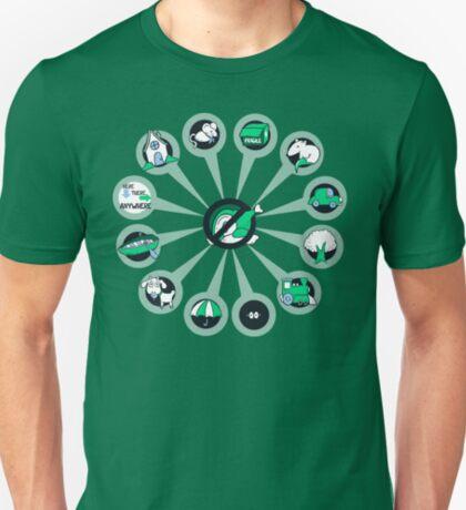 Where I Like Them - Green Eggs and Ham T-Shirt